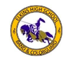 Elkins High School Band and Colorguard Seal