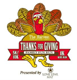 Thanks for Giving Family Fun Run Logo
