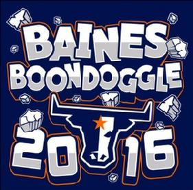 Baines Boondoggle 2016 Graphic