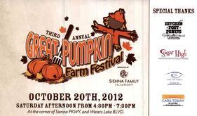 2012 Great Pumpkin Farm Festival Graphic