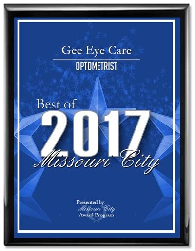 2017 Best of Missouri City Plaque